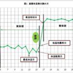 基礎体温表の基本